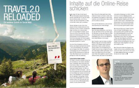 Travel 2.0: INhalte auf die Online-Reise schicken